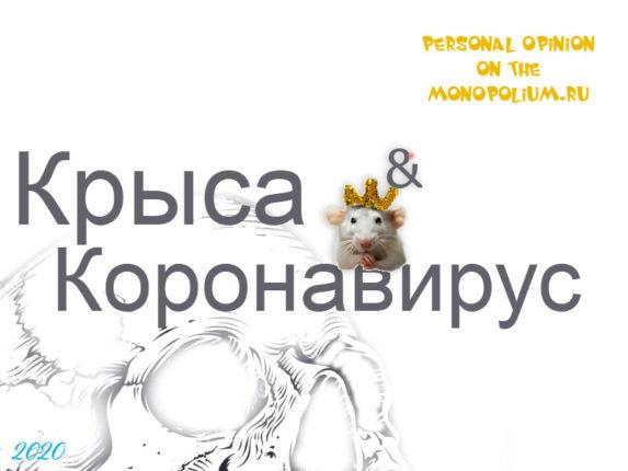 Крыса и Коронавирус 2020